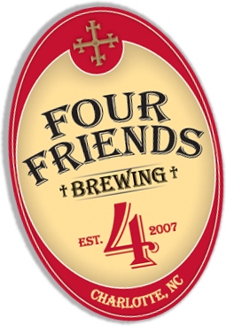 Four Friends Brewing, Est. 2007, Charlotte NC